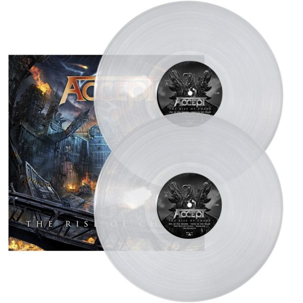 Accept – The Rise Of Chaos (Clear Vinyl)