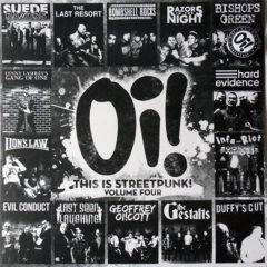 Various ‎– Oi! This Is Streetpunk! Volume Four