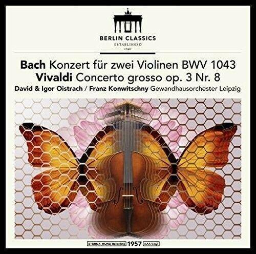 J.S. / Franck / Oistrach / Konwitschny Bach - Bach & Vivaldi: Violin