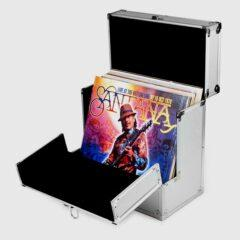 Футляр Aluminium LP Vinyl Storage Case For 40 LPs Front Flap WW Patent
