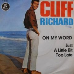 Cliff Richard & The Shadows ‎– On My Word 7""
