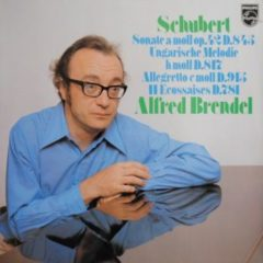 Schubert, Alfred Brendel ‎– Sonata In A Minor, Op. 42 D.845 / Hungarian Melody In B Minor