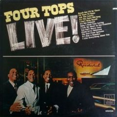 Four Tops ‎– Four Tops Live