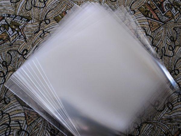 """Конверты внешние, тонкие 50 шт. для 12"""" дюймовых  пластинок"""
