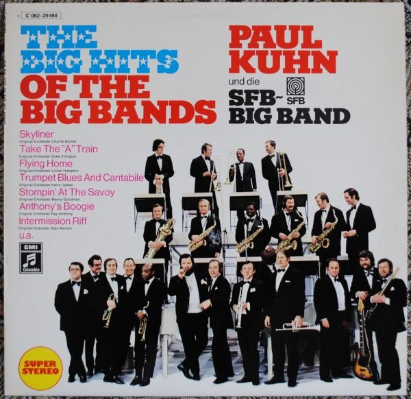 Paul Kuhn Und Die SFB Big Band – The Big Hits Of The Big Bands