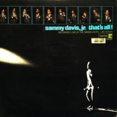 Sammy Davis Jr. ‎– That's All! Recorded Live At The Sands Hotel, Las Vegas