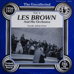 Les Brown And His Orchestra ‎– The Uncollected Les Brown And His Orchestra 1956-1957