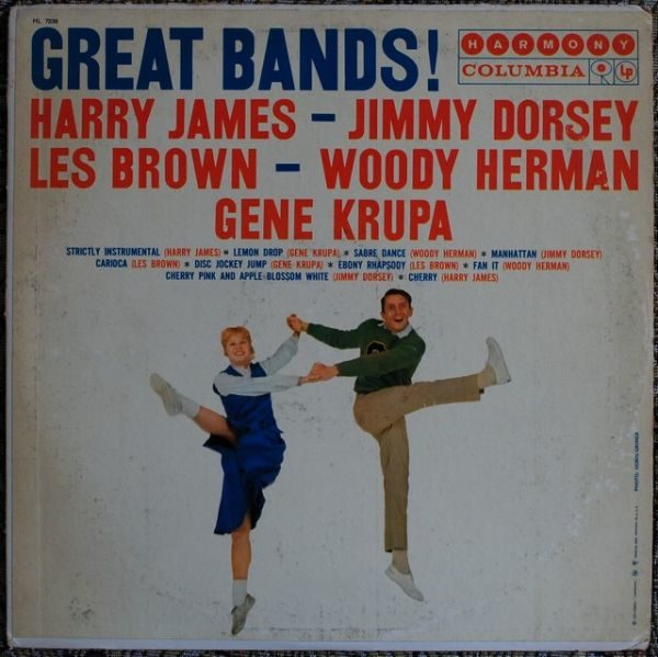 Harry James - Jimmy Dorsey - Les Brown - Woody Herman - Gene Krupa ‎– Great Bands!