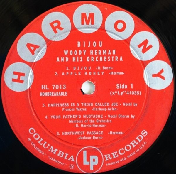 Woody Herman And His Orchestra – Bijou