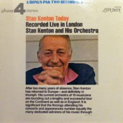 Stan Kenton And His Orchestra ‎– Stan Kenton Today: Recorded Live In London (2 LP)