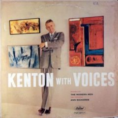 Stan Kenton Introducing Modern Men And Featuring Ann Richards ‎– Kenton With Voices