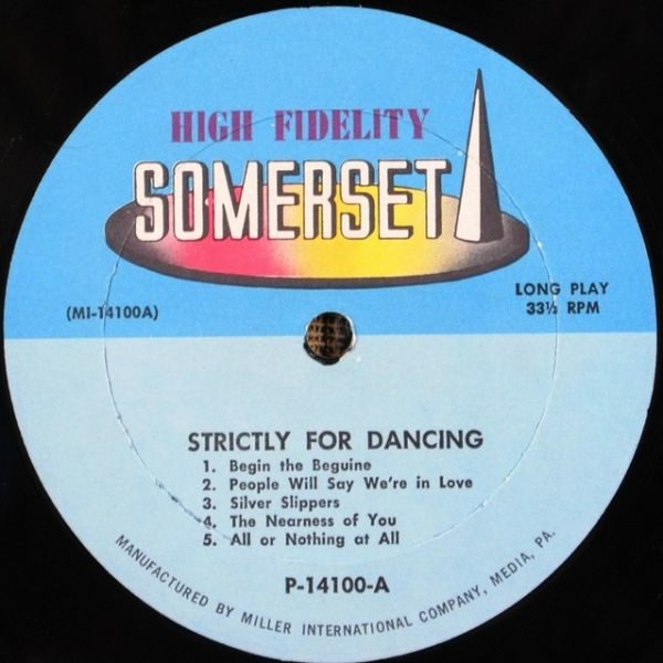 Statler Dance Orchestra – ... Strictly For Dancing