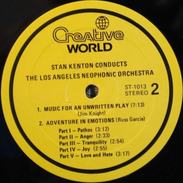 Stan Kenton Conducts Los Angeles Neophonic Orchestra – Stan Kenton Conducts The Los Angeles Neophonic Orchestra
