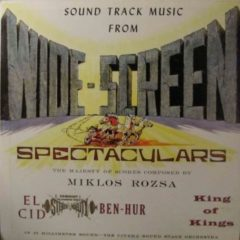 Cinema Sound Stage Orchestra ‎– Sound Track Music From Wide-Screen Spectaculars