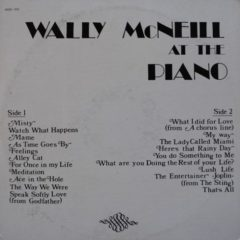 Wally McNeill - At The Piano