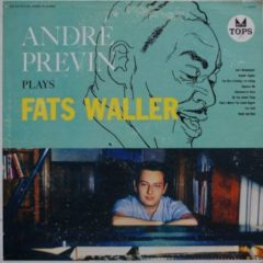 Andre Previn ‎– Plays Fats Waller
