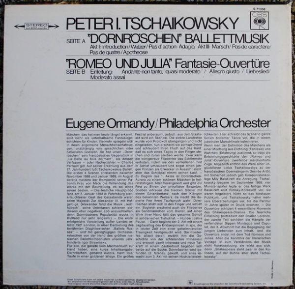 Peter Tschaikowsky – Dornröschen / Romeo & Julia