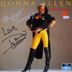 Donna Allen ‎– Perfect Timing (Autograph)