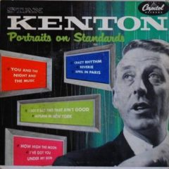 Stan Kenton ‎– Portraits On Standards 7""