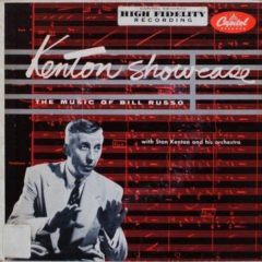Stan Kenton And His Orchestra ‎– Kenton Showcase - The Music Of Bill Russo 7""