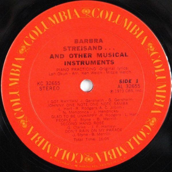 Barbra Streisand – Barbra Streisand And Other Musical Instruments