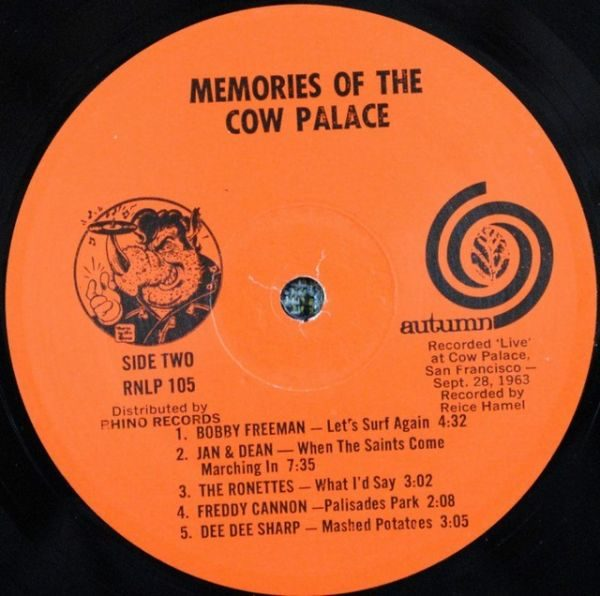 Various – Memories Of The Cow Palace