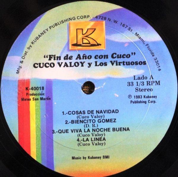 """Cuco Valoy Y Los Virtuosos – Fin De Año Con """"Cuco"""""""