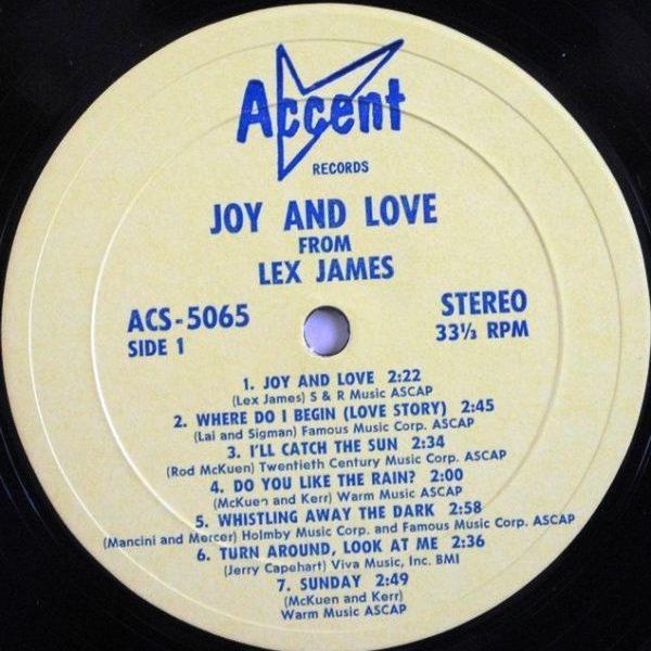 Lex James – Joy And Love
