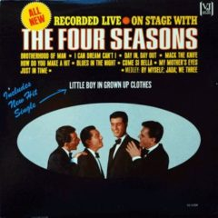 Four Seasons ‎– On Stage With The Four Seasons