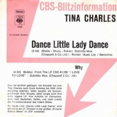 Tina Charles ‎– Dance Little Lady Dance 7""