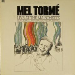 Mel Torme Featuring Al Porcino And His Orchestra ‎– Live At The Maisonette