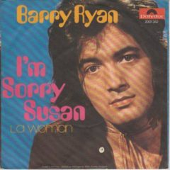 Barry Ryan ‎– I'm Sorry Susan 7""