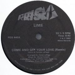 Lime ‎– Come And Get Your Love