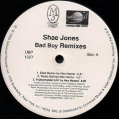 Shae Jones ‎– Bad Boy (Remixes)