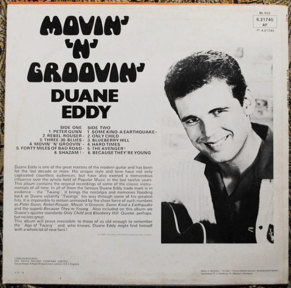Duane Eddy – Movin' 'N' Groovin'