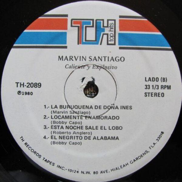 Marvin Santiago - Caliente Y Explosivo!