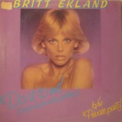 Britt Ekland ‎– Do It To Me (Once More With Feeling) (Long Version)