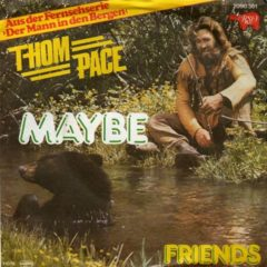 Thom Pace ‎– Maybe 7""