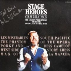 Colm Wilkinson ‎– Stage Heroes ( Autograph )
