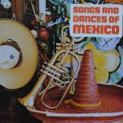 Marcelino Ortega's Perla De Occidente Mariachi ‎– Songs And Dances Of Mexico