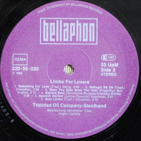 Trinidad Oil Company Steelband – Limbo For Lovers