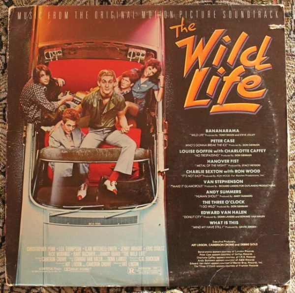 Various ‎– The Wild Life OST (Music From The Original Motion Picture Soundtrack)