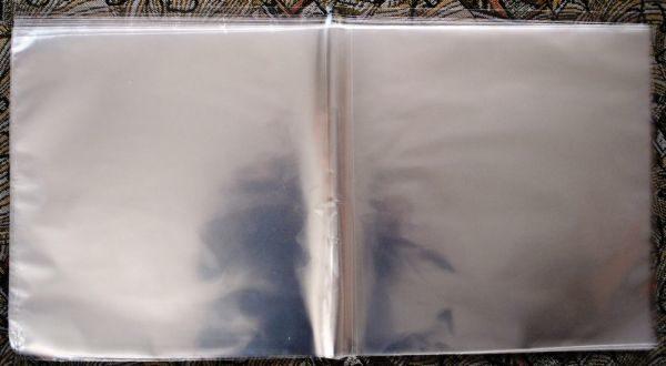 """Конверты внешние, наружные альбомные, тонкие 25 шт. для 12"""" дюймовых пластинок"""