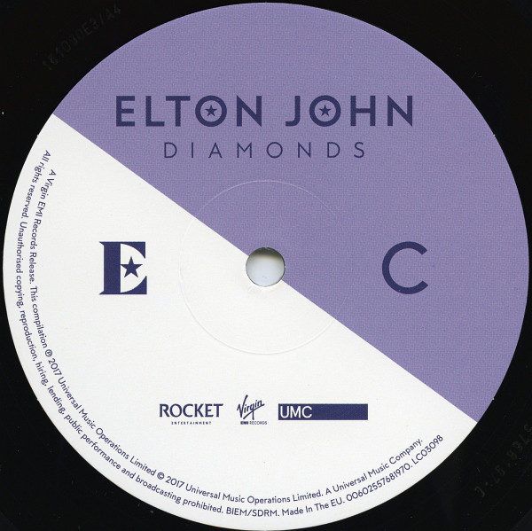 Elton John – Diamonds ( 2 LP )