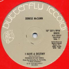 Denise McCann ‎– I Have A Destiny / I Like The Look