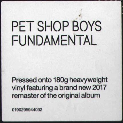 Pet Shop Boys – Fundamental