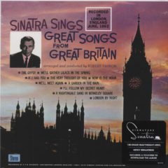 Frank Sinatra ‎– Sinatra Sings Great Songs From Great Britain