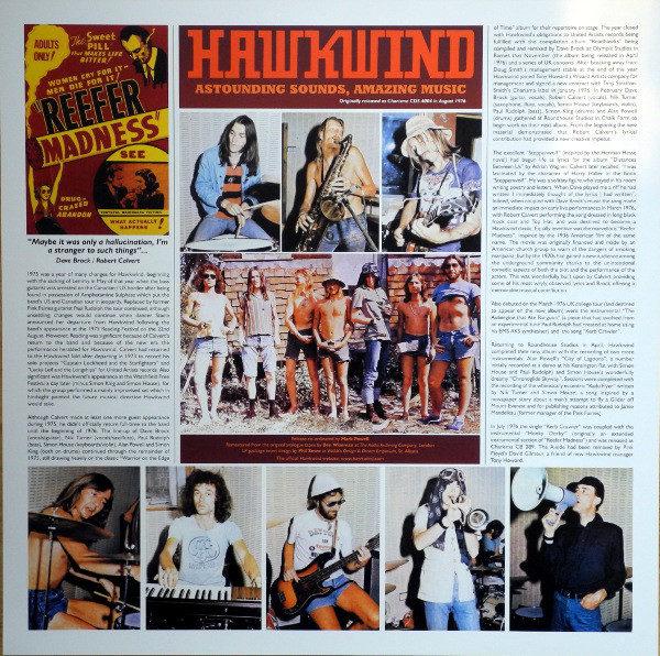 Hawkwind – Astounding Sounds Amazing Music