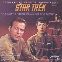 Alexander Courage ‎– Star Trek, Volume 1: The Cage & Where No Man Has Gone Before (Original Television Soundtrack)