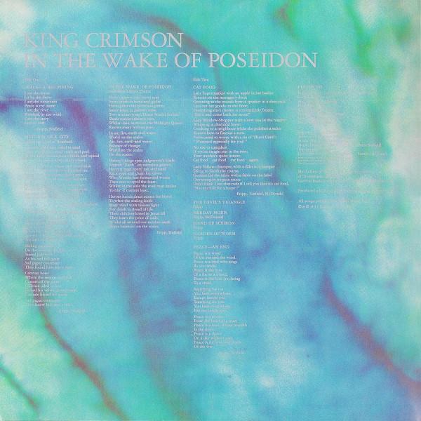 King Crimson – In The Wake Of Poseidon ( 200g )